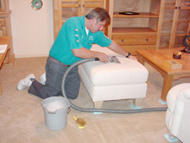 Upholstery cleaning\